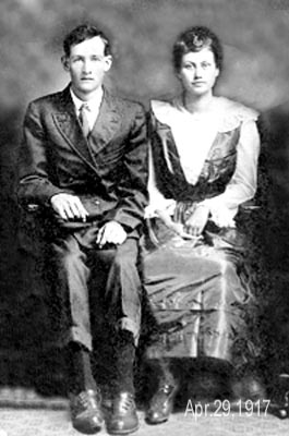 James & Rachel Bowen-Rawls 1917